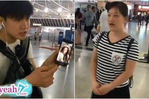 Lần đầu nhìn thấy bạn gái quen qua mạng tại sân bay, chàng trai nhất quyết quay đầu bỏ về