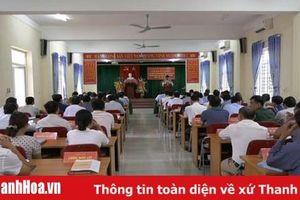Huyện Lang Chánh: Khai giảng lớp bồi dưỡng cán bộ dự nguồn BCH Đảng bộ