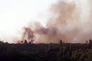 Quảng Nam đã khống chế được 3 đám cháy rừng tại huyện Hiệp Đức