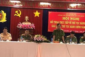 Công an TP Hồ Chí Minh 'tháo gỡ' thủ tục hành chính vì nhân dân phục vụ