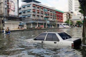 Thái Lan xây dựng các giếng nước lớn ở Bangkok để chống ngập lụt