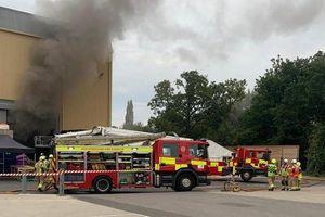 Phim trường 'Harry Potter' xảy ra sự cố hỏa hoạn