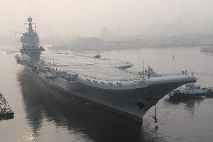 Thử nghiệm chưa xong, tàu sân bay Trung Quốc vắng mặt trong diễu binh