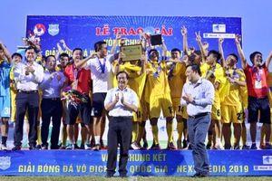 Thanh Hóa lần đầu giành ngôi vô địch Giải U17 quốc gia