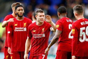 Vắng hàng loạt sao lớn, Liverpool vẫn biểu dương sức mạnh