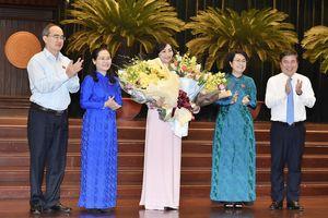 Bà Phan Thị Thắng được bầu làm Phó Chủ tịch HĐND TPHCM