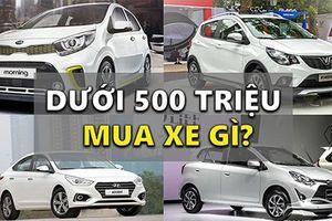 Top xe sedan giá rẻ dưới 500 triệu đồng tại Việt Nam