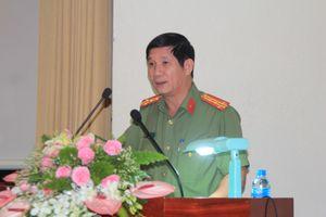 Đại tá Huỳnh Tiến Mạnh, Giám đốc Công an tỉnh Đồng Nai trả lời chất vấn