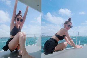 Dương Thừa Lâm khoe dáng nuột với bikini sau khi nhận nhẫn kim cương 'khủng'