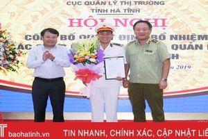 Trao quyết định bổ nhiệm Cục trưởng Cục Quản lý thị trường Hà Tĩnh