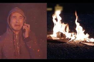 Chỉ vì đốt lửa sưởi ấm, Lương Thế Thành gây thảm cảnh cháy to trong tập 76 'Gia đình là số 1'
