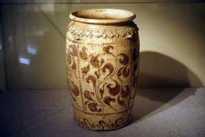 Bí ẩn trăm năm gốm hoa nâu 'đặc sản' thời Lý - Trần