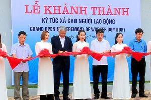 Yên Bái: Khánh thành công trình ký túc xá cho người lao động