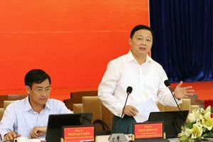 Bộ trưởng Trần Hồng Hà: Đồng bộ, chia sẻ cơ sở dữ liệu để quản lý chặt chẽ lĩnh vực TN&MT