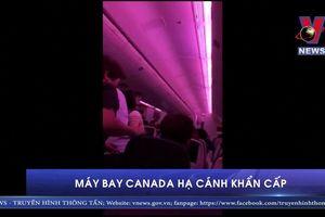 Máy bay Canada hạ cánh khẩn cấp