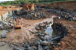 Bình Phước: Phát hiện mỏ khai thác đá xây dựng trái phép quy mô lớn