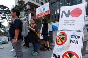 Tranh chấp thương mại Hàn Quốc-Nhật Bản leo thang: Mỹ vào cuộc