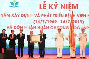 Bệnh viện Nhi T.Ư đón nhận Huân chương Độc lập hạng Nhì