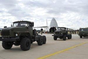 Những hình ảnh đầu tiên S-400 tại Thổ Nhĩ Kỳ
