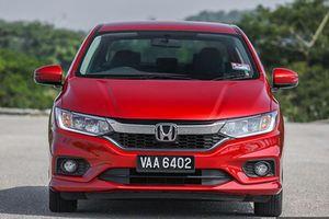 Xe Honda City đỏ rực, chỉ 486 triệu đồng tại Malaysia