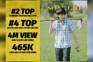 MV 'Sóng Gió' của K-ICM và JACK có lượt xem công chiếu cao thứ 4 toàn cầu