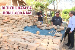 Cận cảnh di tích Chăm Pa hơn 1.600 năm vừa được phát hiện tại Phú Yên