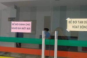 Bể bơi Cung VH Thanh thiếu nhi Quảng Ninh tạm dừng hoạt động sau khi 1 học sinh tử vong