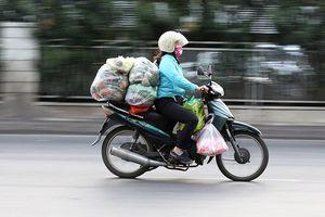 Hà Nội đề xuất cấm xe máy: Người dân lao động lo mất 'cần câu cơm'