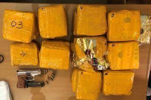 Phá đường dây ma túy 'khủng' tại đất Cảng, thu nhiều ma túy và súng đạn
