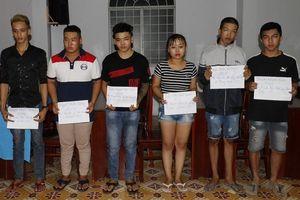 Cần Thơ: Ngăn chặn 61 thanh niên tụ tập, cổ vũ đua xe trái phép