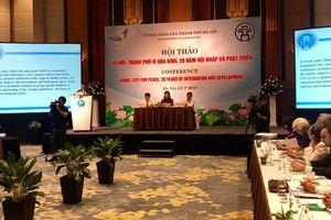 20 năm 'Thành phố Vì hòa bình: Cơ hội quảng bá về văn hóa và con người Hà Nội