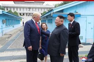 Tổng thống Trump: 'Ông Kim Jong-un ít khi cười, nhưng ông ấy đã cười khi gặp tôi'