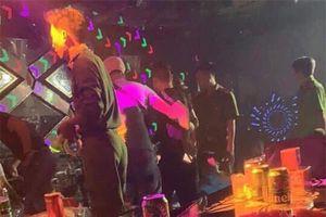 Hải Dương: Phát hiện 40 đối tượng sử dụng ma túy tại quán Bar, Karaoke Ruby One