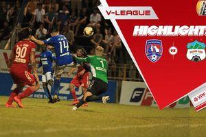 Highlight Than Quảng Ninh 3-0 HAGL: Vòng 15 V-League 2019