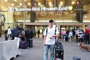Công Phượng tới Bỉ, chuẩn bị kiểm tra y tế tại Sint Truidense
