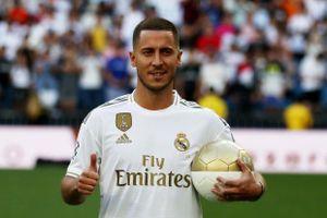 Hazard bị từ chối khi xin áo số 7 tại Real Madrid