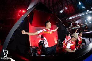 Khoảnh khắc Việt Nam đánh bại Đài Bắc lên ngôi vô địch thế giới