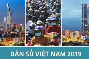 Dân số Việt Nam gần 100 triệu người, đứng thứ 3 Đông Nam Á, 15 thế giới