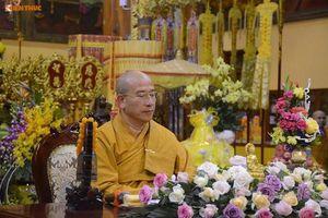 Sư Thích Trúc Thái Minh vẫn trụ trì chùa Ba Vàng dù bị bãi nhiệm hết chức vụ