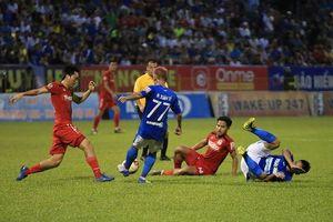 Thua thảm trên sân Cửa Ông, Hoàng Anh Gia Lai tụt sát đáy bảng xếp hạng V-League 2019