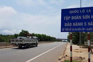 Từng 'dán tem' chất lượng 5 năm công trình đường bộ, Tập đoàn Sơn Hải là ai?