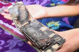 iPhone 6 bất ngờ phát nổ trên tay bé gái