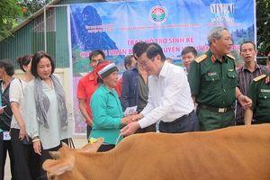 Hỗ trợ bò – trao sinh kế cho nạn nhân bom, mìn tại Hà Giang