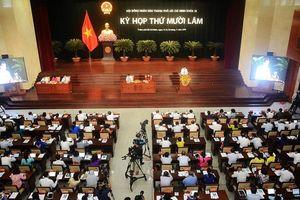 Kỳ họp thứ 15 HĐND TP. Hồ Chí Minh: Thông qua 22 Nghị quyết