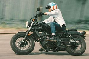 Cận cảnh Honda Rebel 300 phong cách mới giá 125 triệu đồng