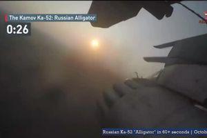 'Cá sấu' Ka-52 Nga khạc lửa hủy diệt mục tiêu