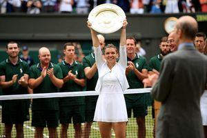 Vượt qua Serena Williams, Simona Halep vô địch đơn nữ Wimbledon 2019