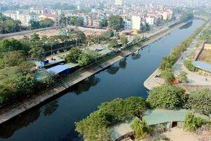 Mục sở thị cảnh 'trả lại tên cho em' ở sông Tô Lịch khi thôi bơm nước từ Hồ Tây