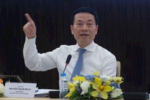 Bộ trưởng Nguyễn Mạnh Hùng: Việt Nam cần xây dựng mạng xã hội mới, công cụ tìm kiếm mới