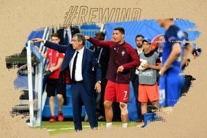 Khoảnh khắc Ronaldo bật khóc, chỉ đạo đồng đội tại Euro 2016